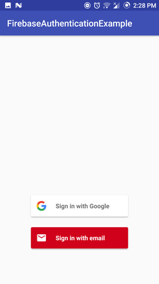 Android Firebase Authentication with Firebase UI   Lasse